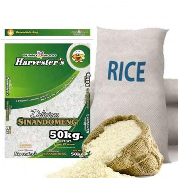50kg Sack of White Rice