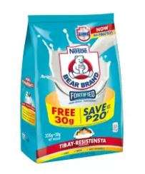 BEAR BRAND Fortified Powdered Milk Drink 320g