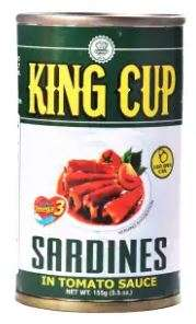 King Cup Sardines In Tomato Sauce Eo 155G