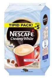NESCAFE Creamy White 3-in-1 Coffee Tipid Pack 29g - Pack of 30 Sachets
